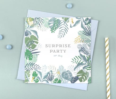 Personalised birthday invitations Stationary - Atelier Rosemood