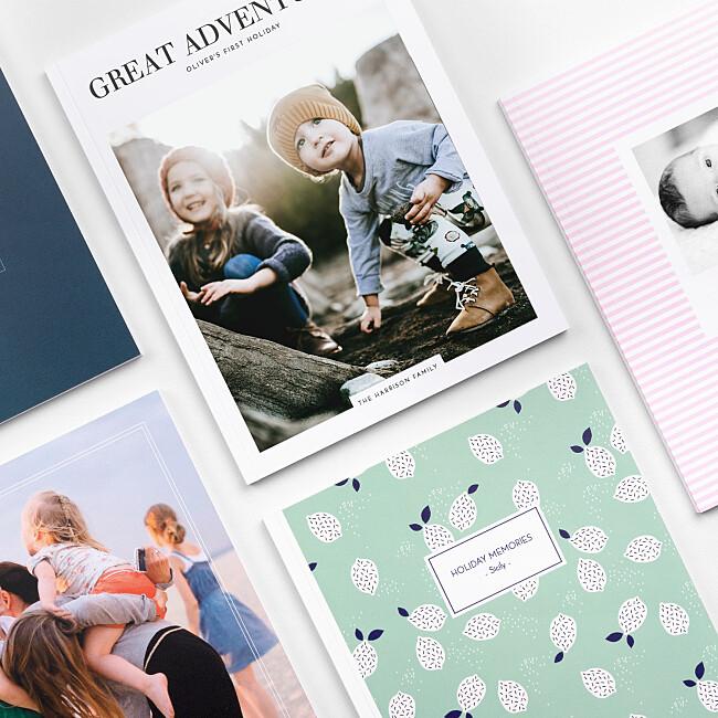Softcover photo book designs