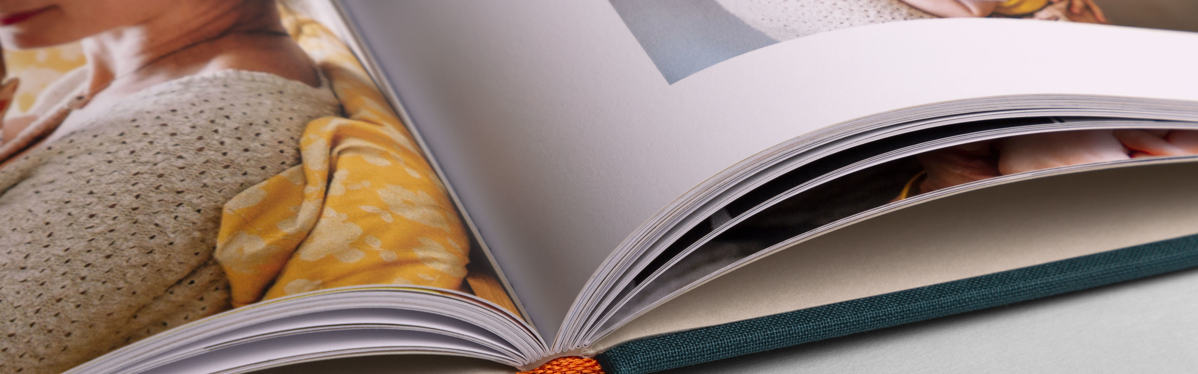 Create a hardcover photo book
