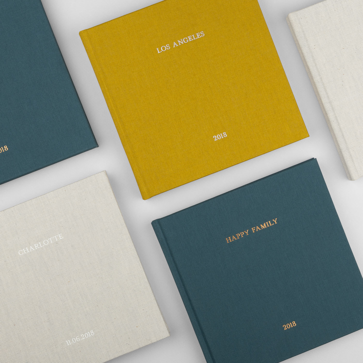 Fabric Hardcover Photo Book Covers