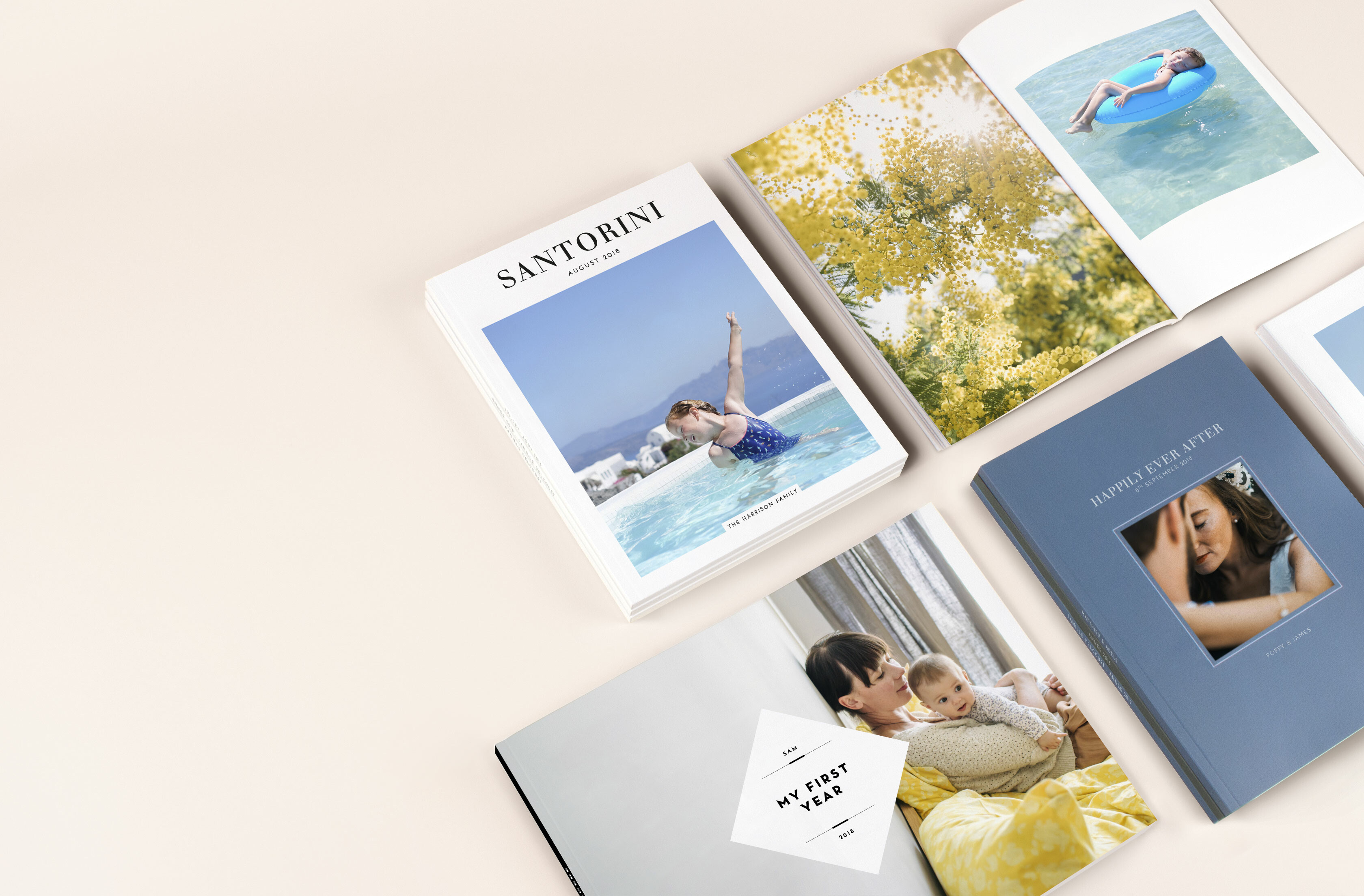 Photo book cover designs