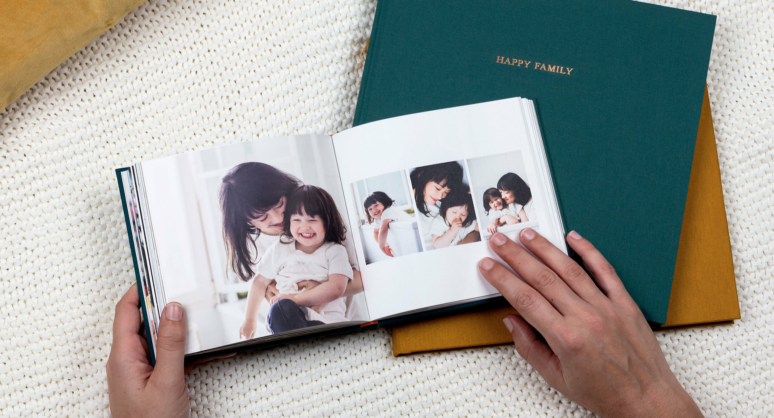 Square Photo Books from Rosemood