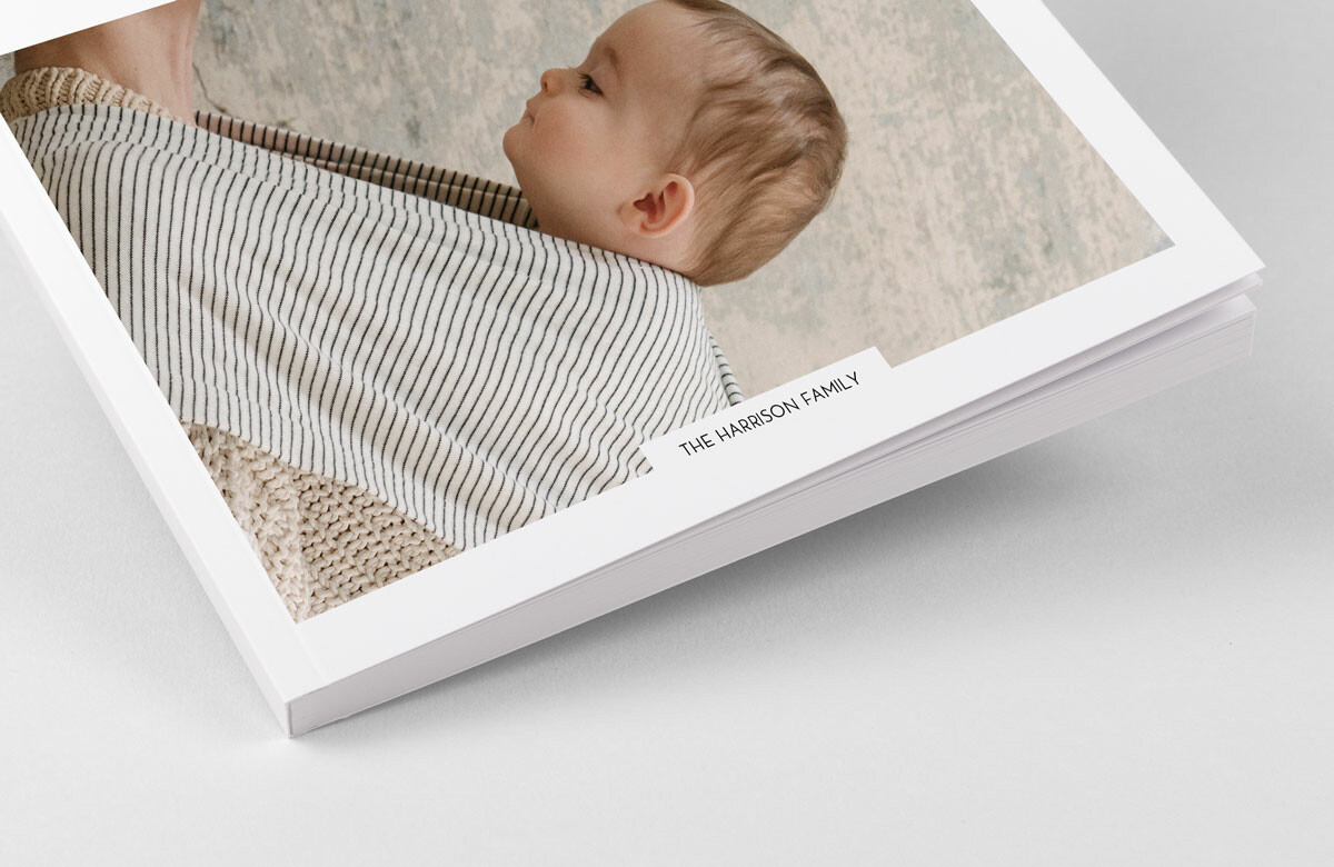 Softcover baby photo albums