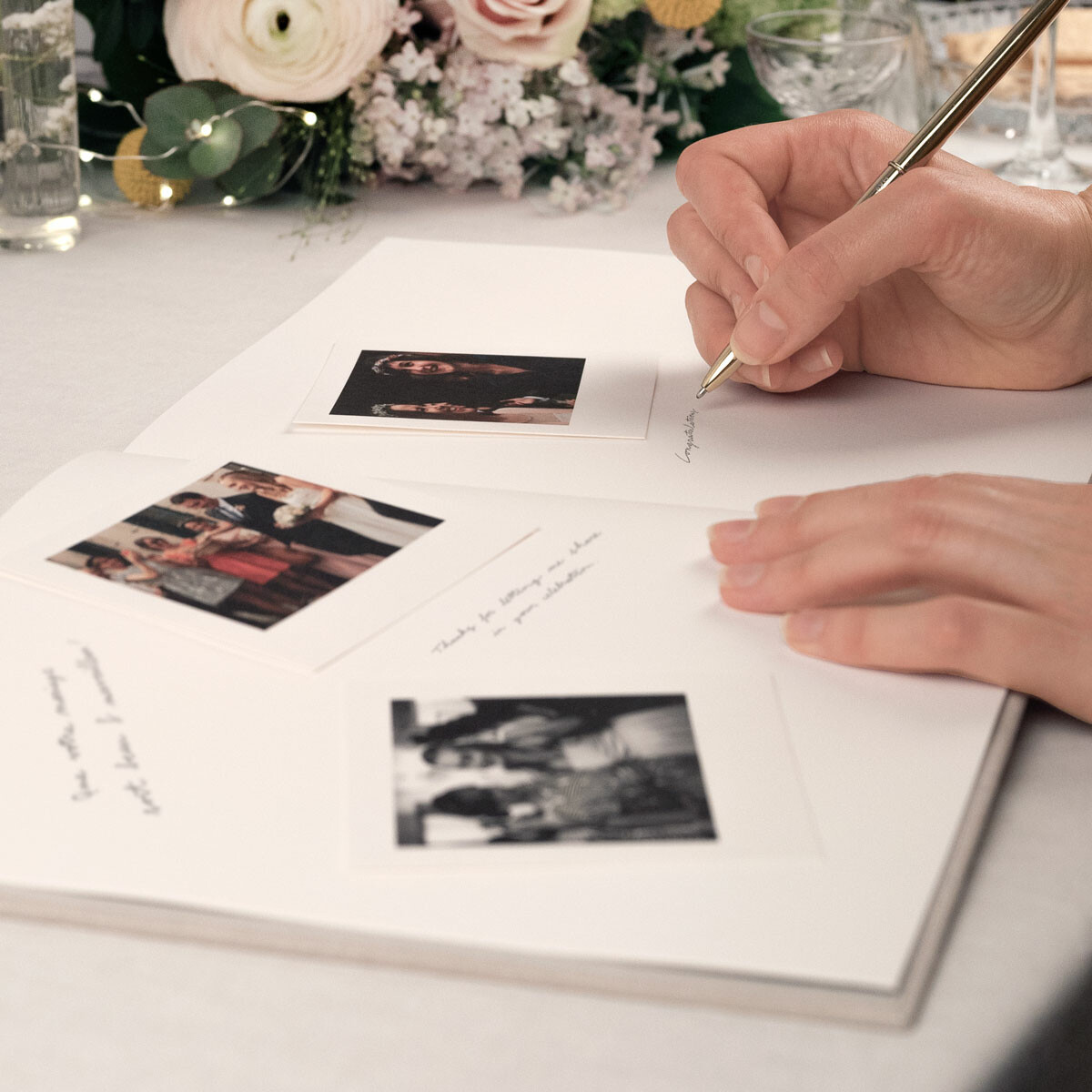 Wedding guest book message ideas