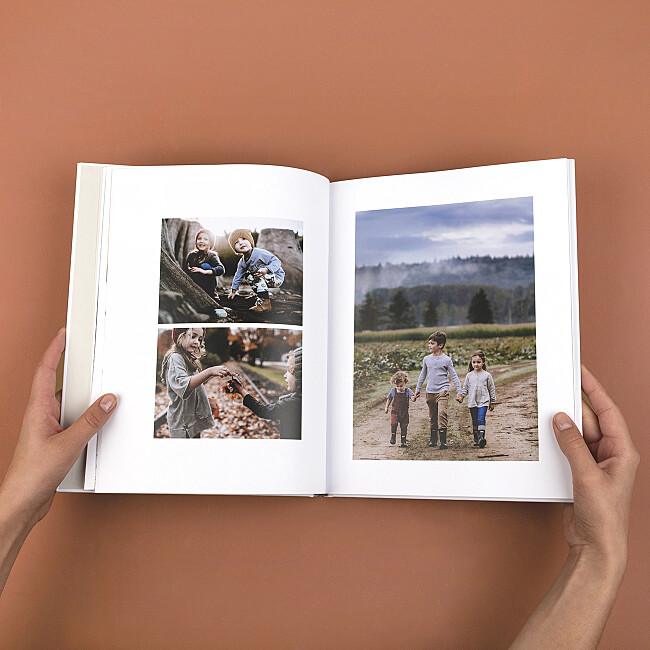 Personalised printed photo books