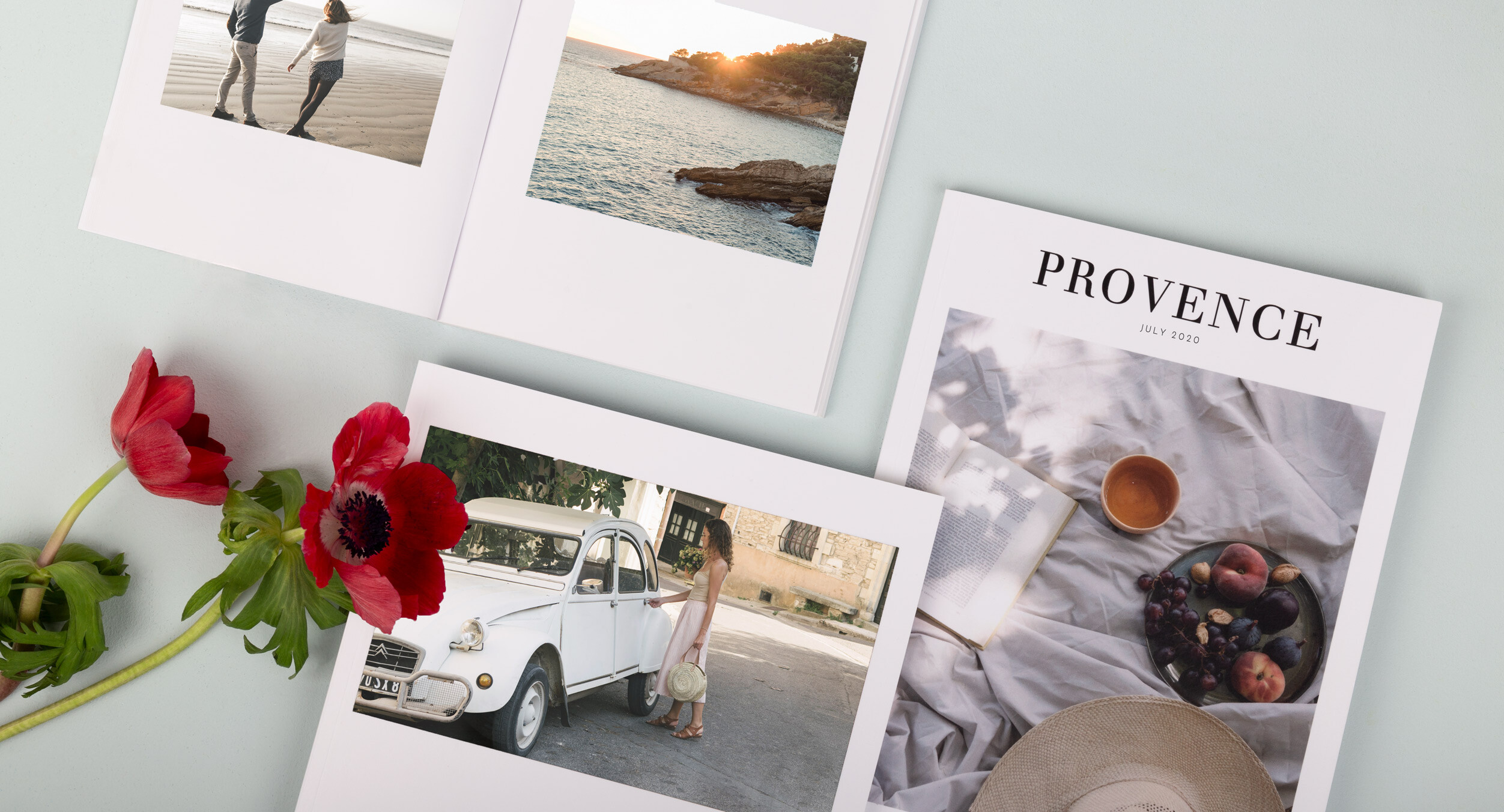 Honeymoon Photo Albums from Rosemood