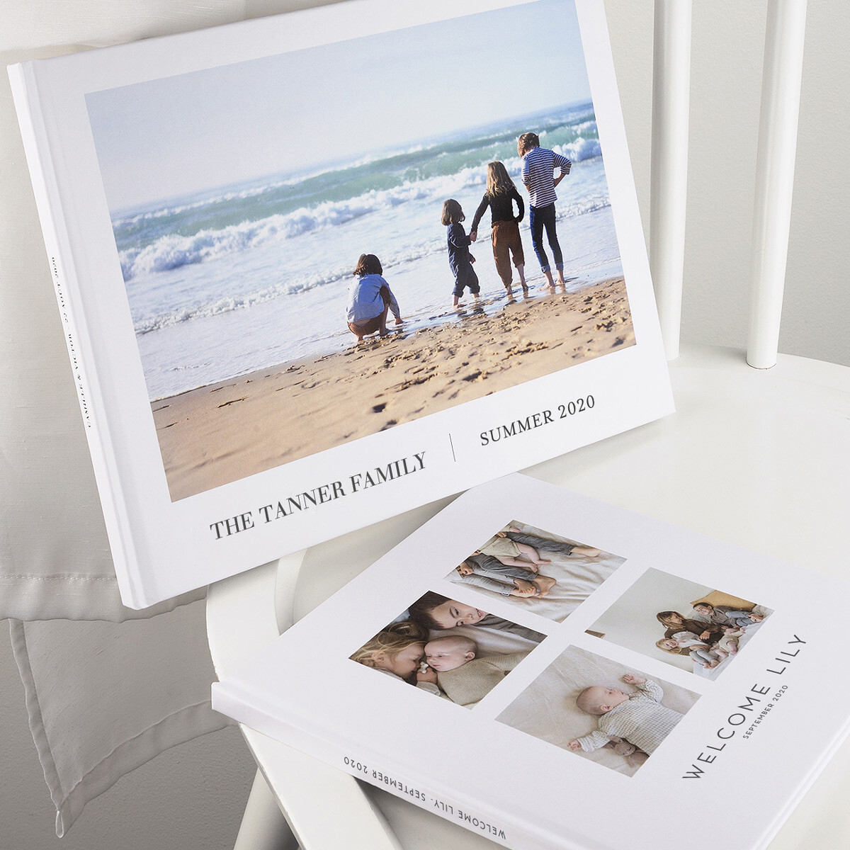 Traditional hardcover photo albums