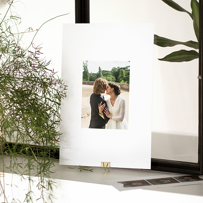 Double thickness photo prints