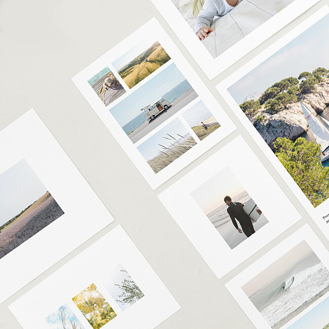 适用于您的照片印刷品的模板