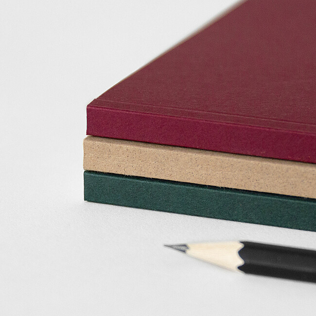 three colours for your softback notebooks