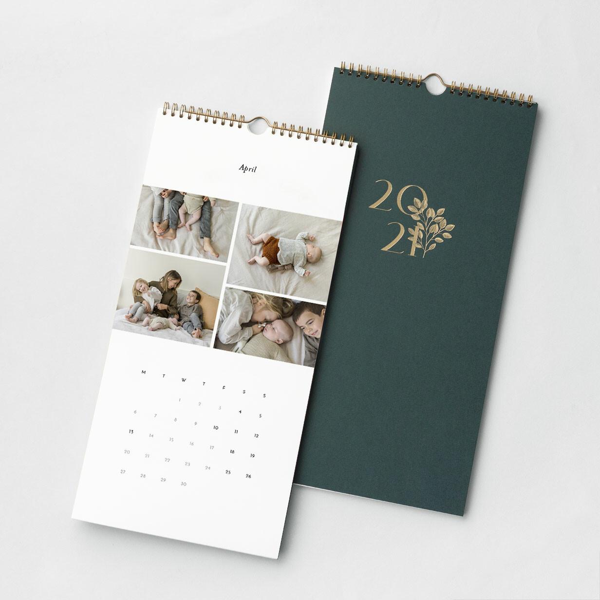 Foil Photo Calendar 2021
