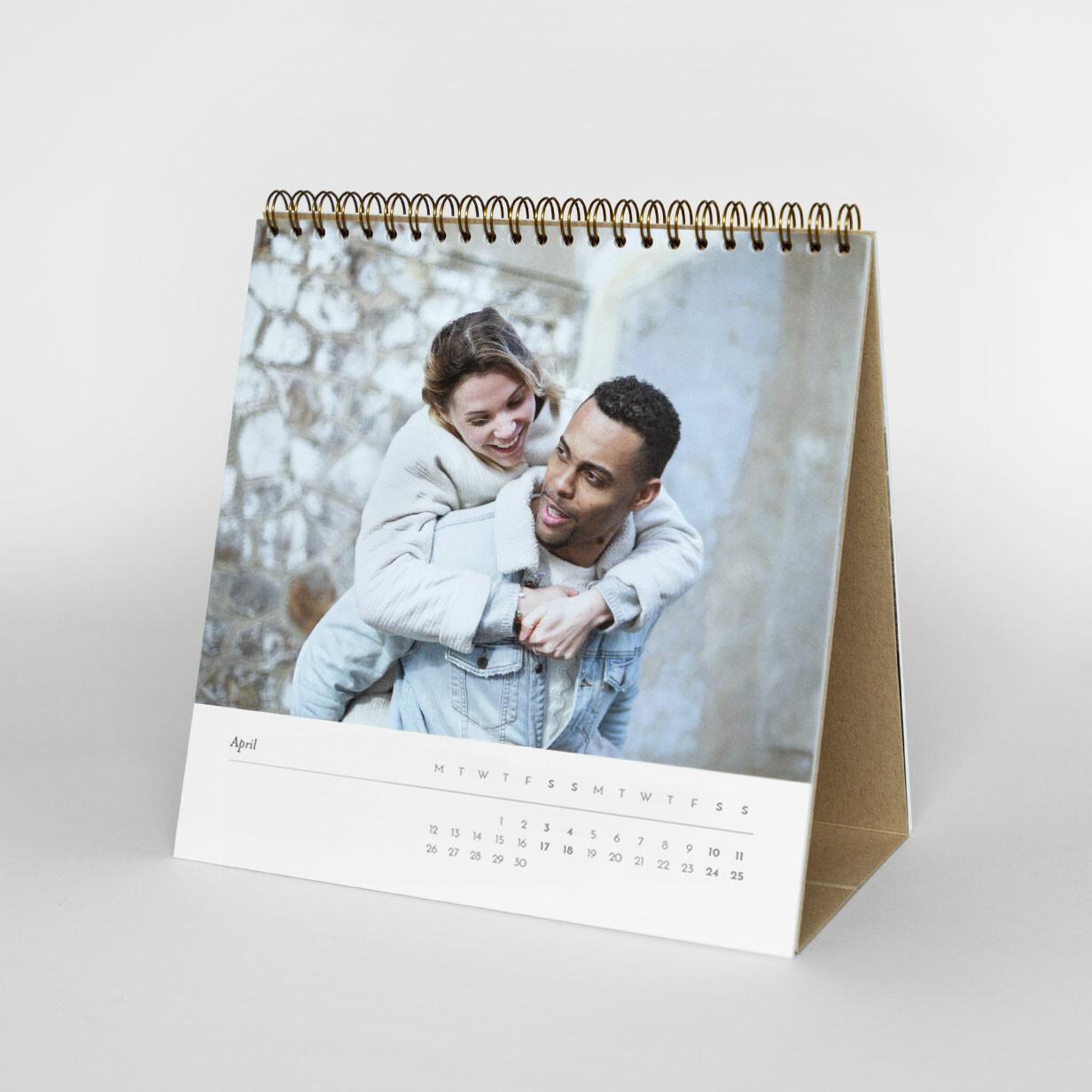 Square Photo Desk Calendar