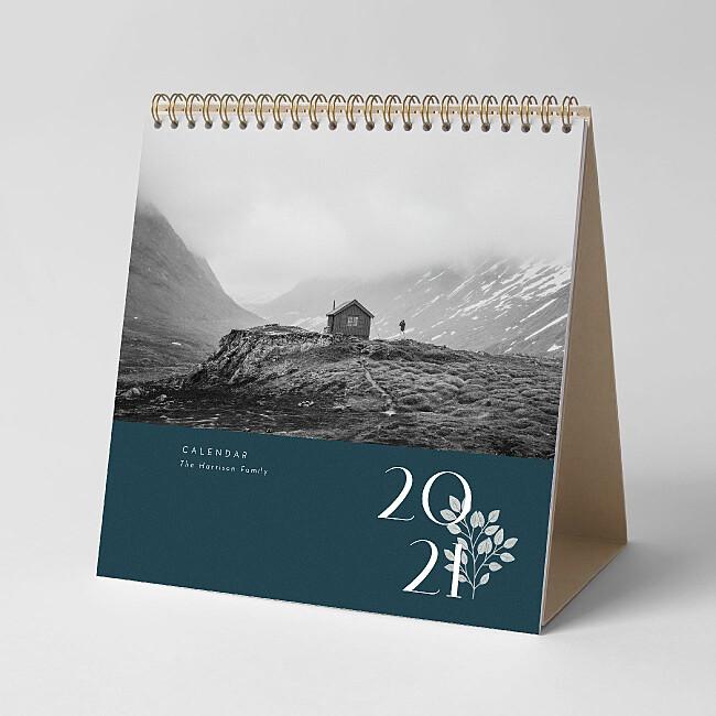 Square Desk Calendar