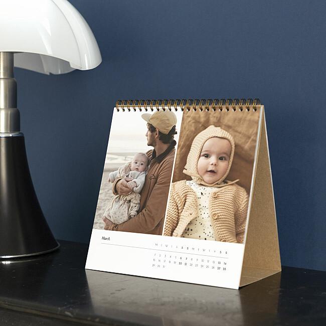 Elegant Desk Calendar