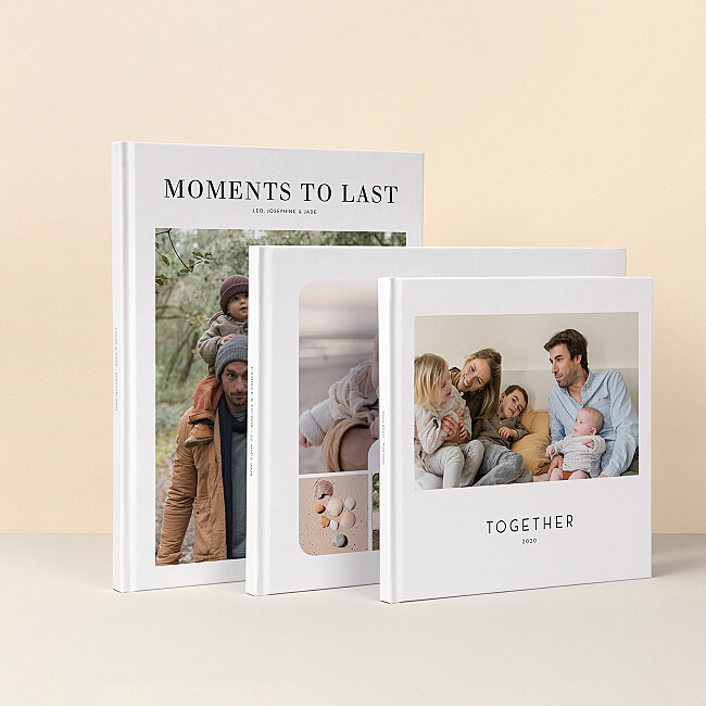 High-quality photo books with hardcover