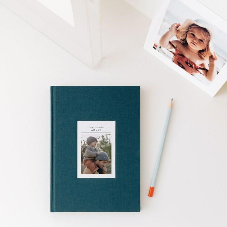 Personalised Baby Journal Rosemood