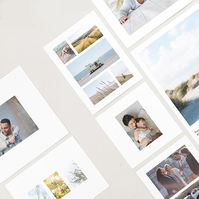 Premium photo prints formats