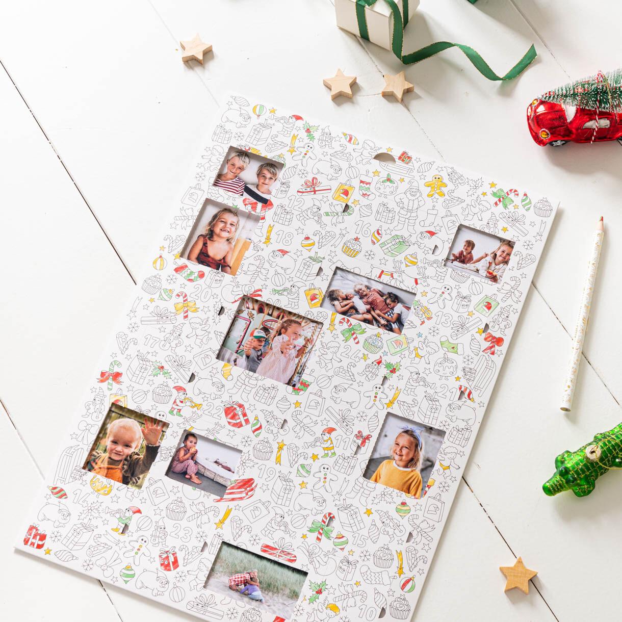 Colouring Advent Calendar OMY x Rosemood