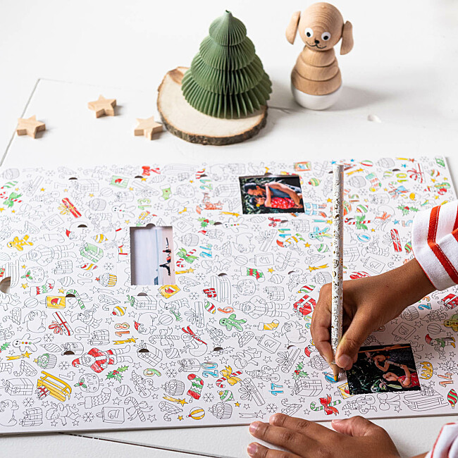 Advent Calendar to colour in