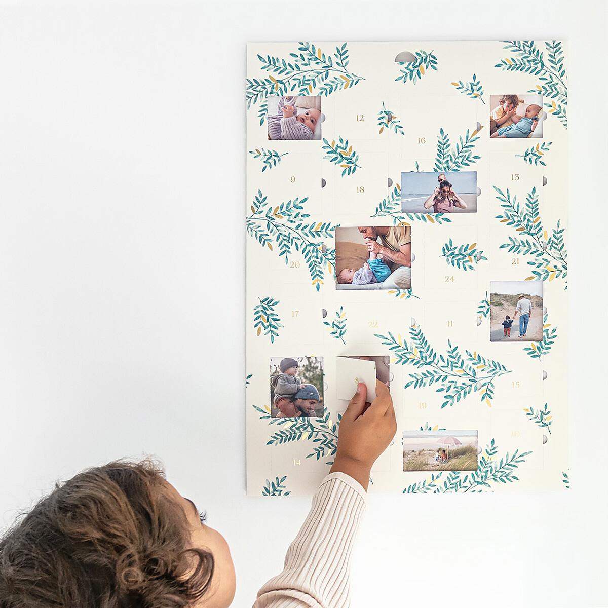 Foil Advent Calendar Rosemood