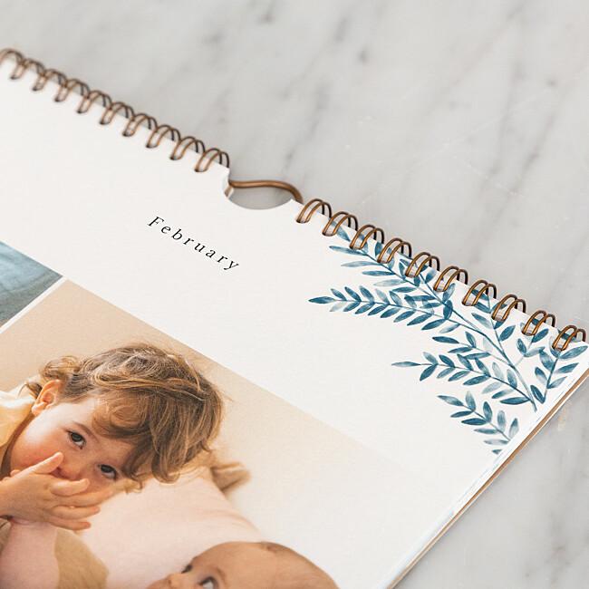 Photo calendar details