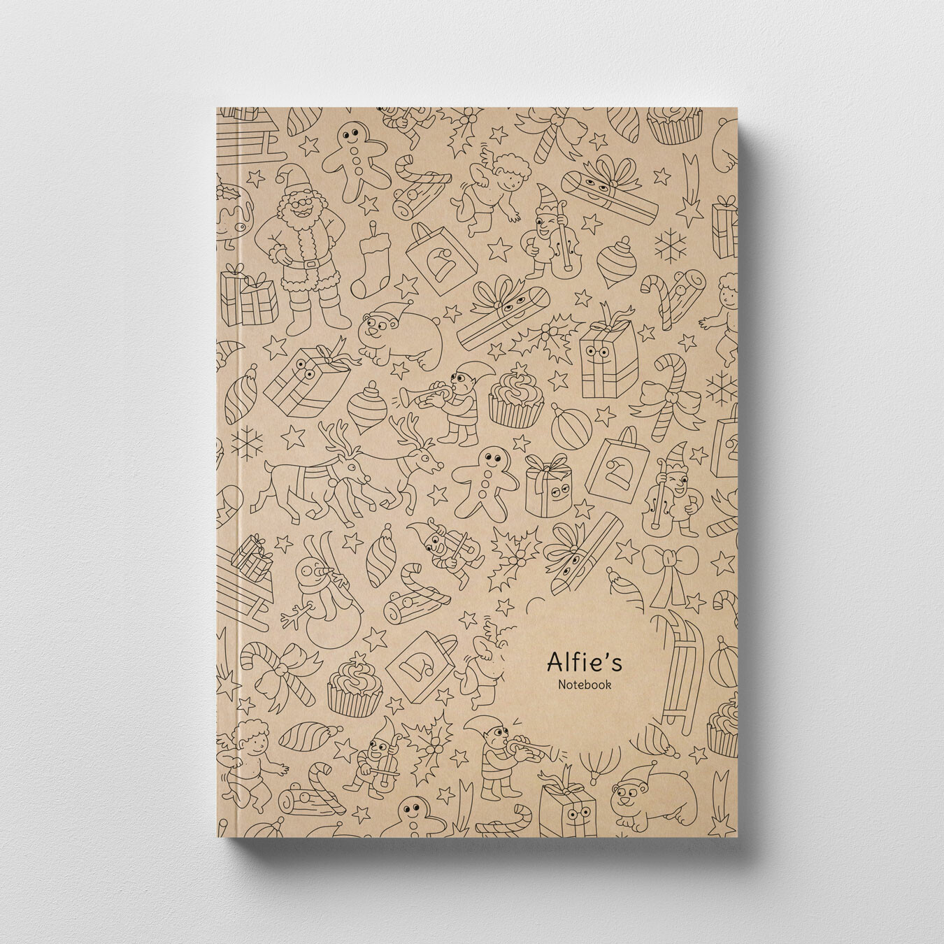 OMY Colouring Notebook