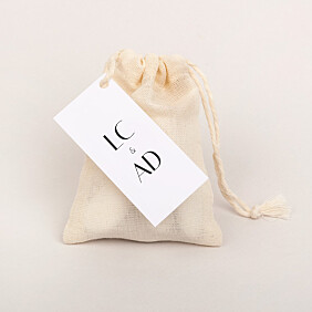 Insignia Wedding Favour Tags