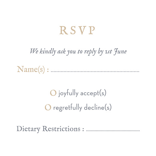 RSVP Cards Baby's breath (square) grey - Page 2