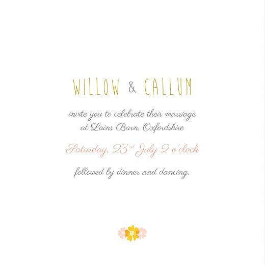 Wedding Invitations Tandem pink - Page 3