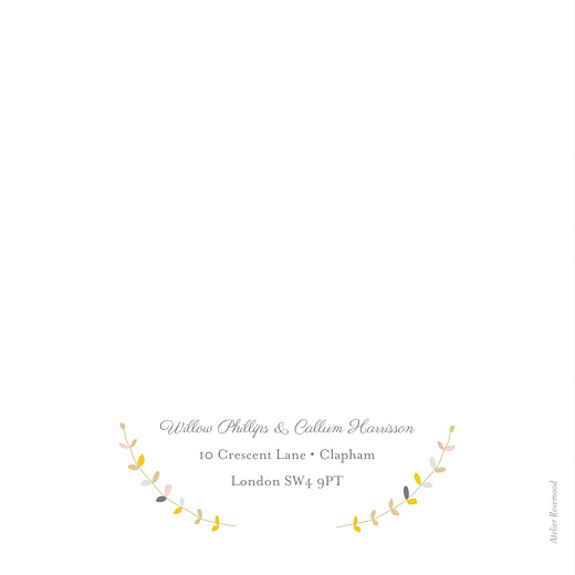 Wedding Invitations Tandem pink