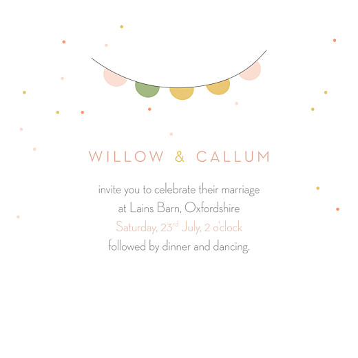 Wedding Invitations Lovely couple pink - Page 3
