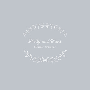 Poem grey grey wedding invitations