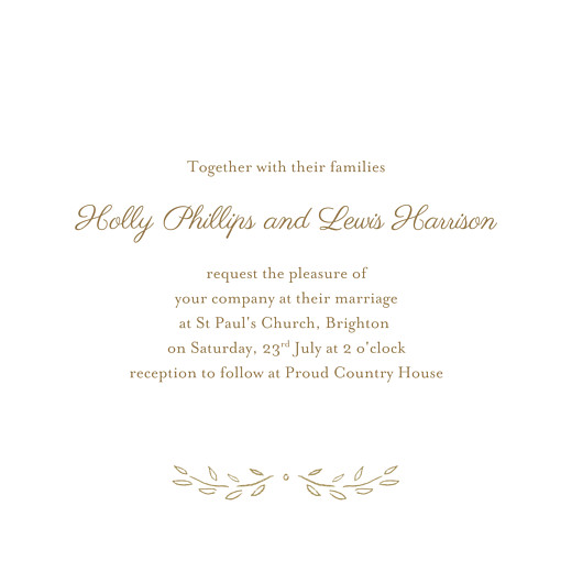 Wedding Invitations Poem (4 pages) kraft - Page 3