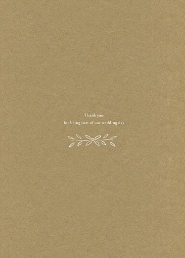 Wedding Order of Service Booklets Poem kraft - Page 3