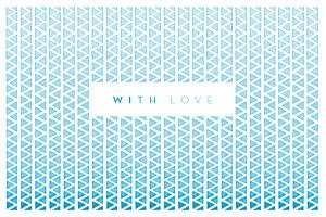 Notecards Azur blue