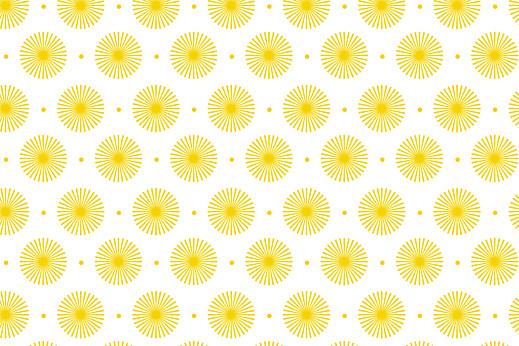 Notecards Petals yellow