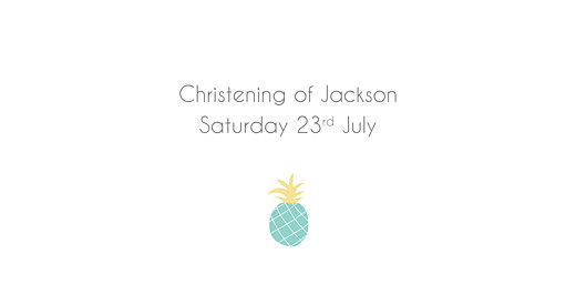 Christening Place Cards Pineapple green - Page 4