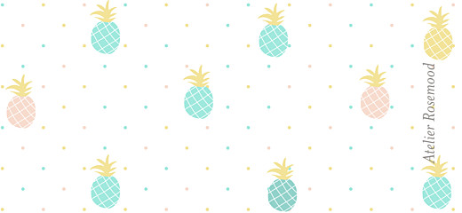 Christening Gift Tags Pineapple green - Page 2