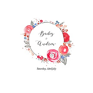 Wedding Invitations Romance (4 pages) white