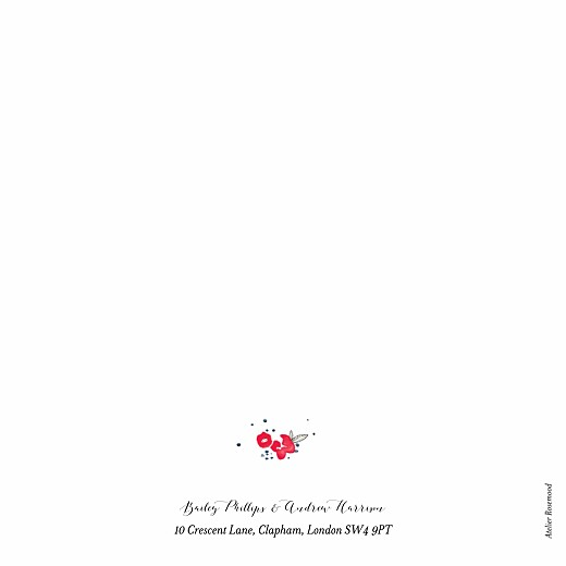 Wedding Invitations Romance (4 pages) white - Page 4