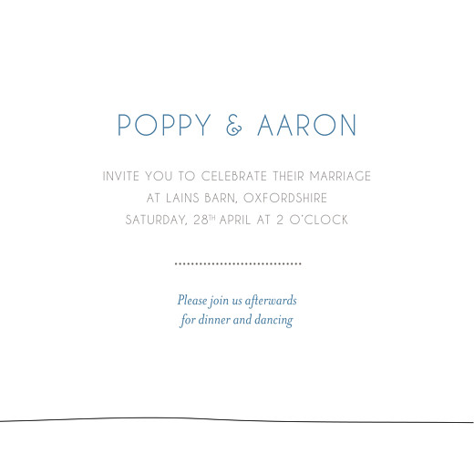 Wedding Invitations Beach promise white - Page 3