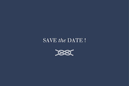 Save The Date Cards Nautical blue