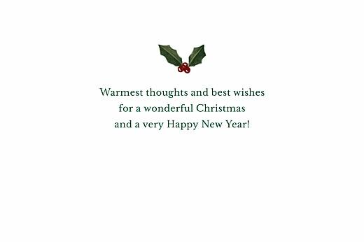 Christmas Cards Retro christmas blue & green