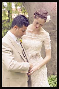 Wedding Thank You Cards Memory portrait black