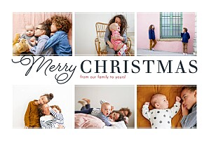 Christmas Cards Holiday greetings white