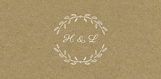 Wedding Place Cards Poem kraft - Page 4