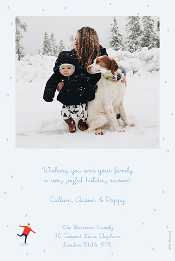 Christmas Cards Little ice dancers blue - Page 2