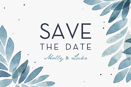 Save The Date Cards Summer night blue