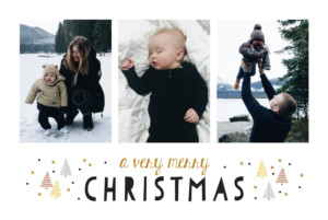 Christmas Cards A very scandi christmas yellow