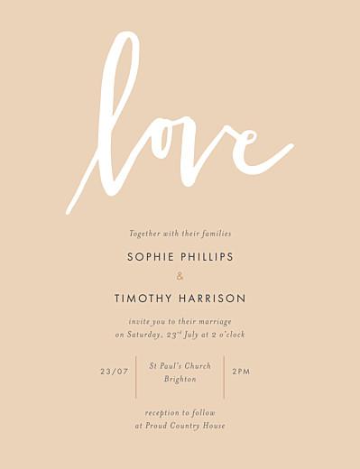 Love Letters Wedding Invitations Atelier Rosemood